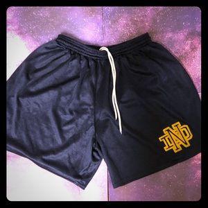 Vintage Notre Dame shorts